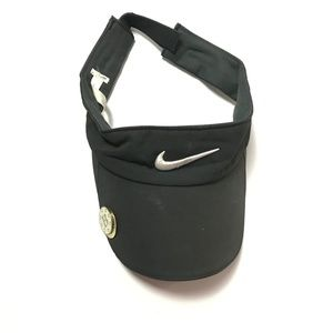 Nike Golf Tech Men's Visor Hat Adjustable Black OS